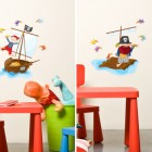 Funny Kids Study Desk Wall Stickers Inspirations