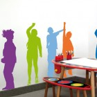 Funny Kids Wall Murall Stickers Ideas for Kids Room