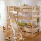 Funy Play Bunk Beds with Kids slide