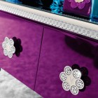 Glamour Bedroom Furniture with Swarovsky Crystals Design