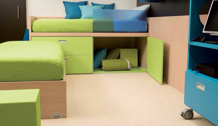 Kids Bed With Hidden Storage