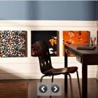 Lower Half Picture Decoration in Work Desk Ideas