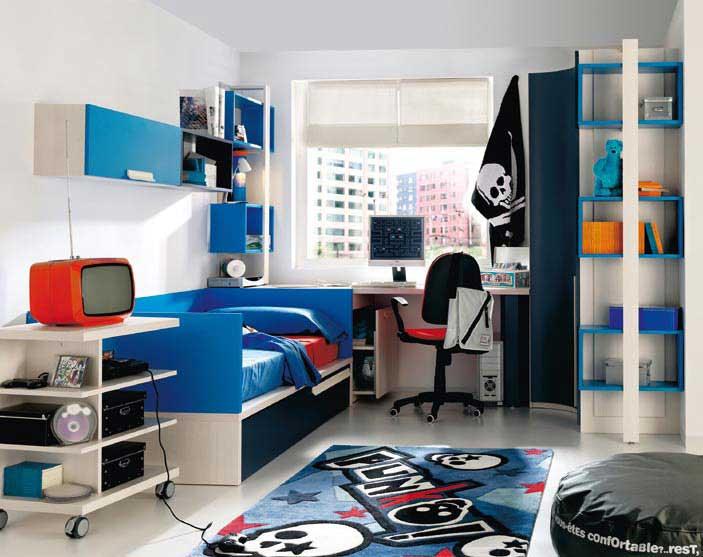 Minimalistic Kids Bedroom Design Ideas