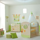 Modern Baby Nursery Room Winnie the Pooh Decorations