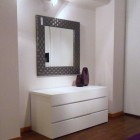 Modern Bedroom Furniture With Square Miror Ideas