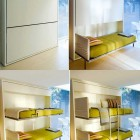 Modern Space Saving Hide Twin Bed