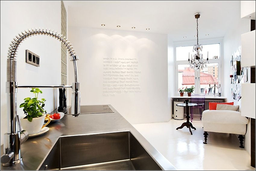 Modern Swirl Kitchen Faucet Ideas