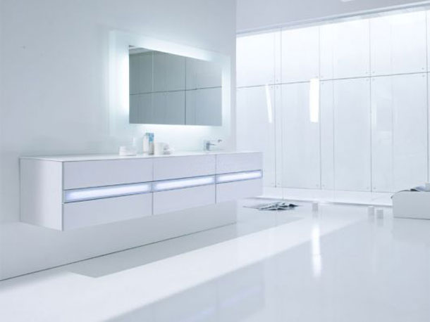 modern and hi tech white bathroom inspirations interior