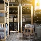 Natural Wood Storage IKEA 2012