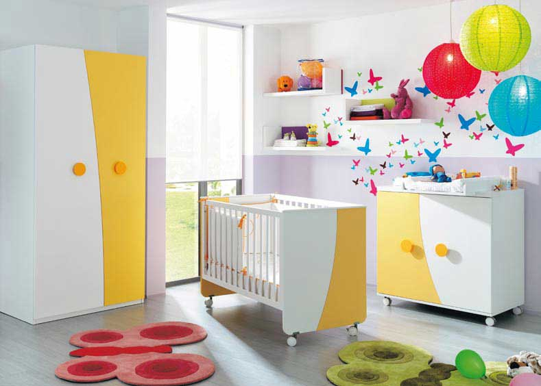 Modern Nursery and Kids Room Furniture Ideas - Bedroom Design ...
