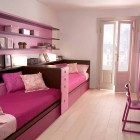 Pink and Brown Sofa Beds Design