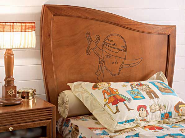 Amazing sea themed furniture for kids room ideas bedroom for Boys pirate bedroom ideas