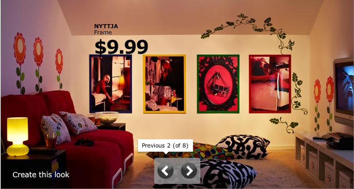Plyful IKEA Sticker Wall Decor to your Living Room