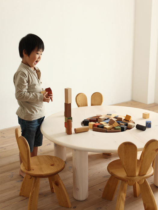 Rabbit Chairs Design for Kids