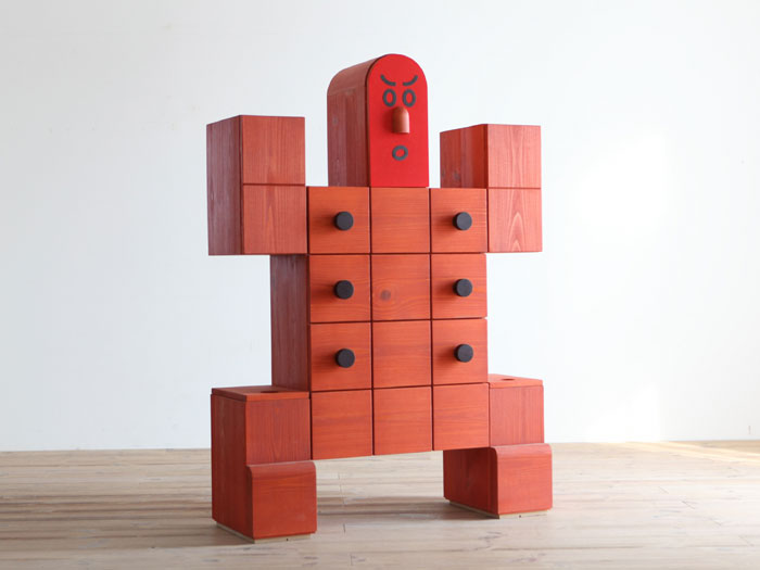 Red Sumo Storage Furniture for Kids