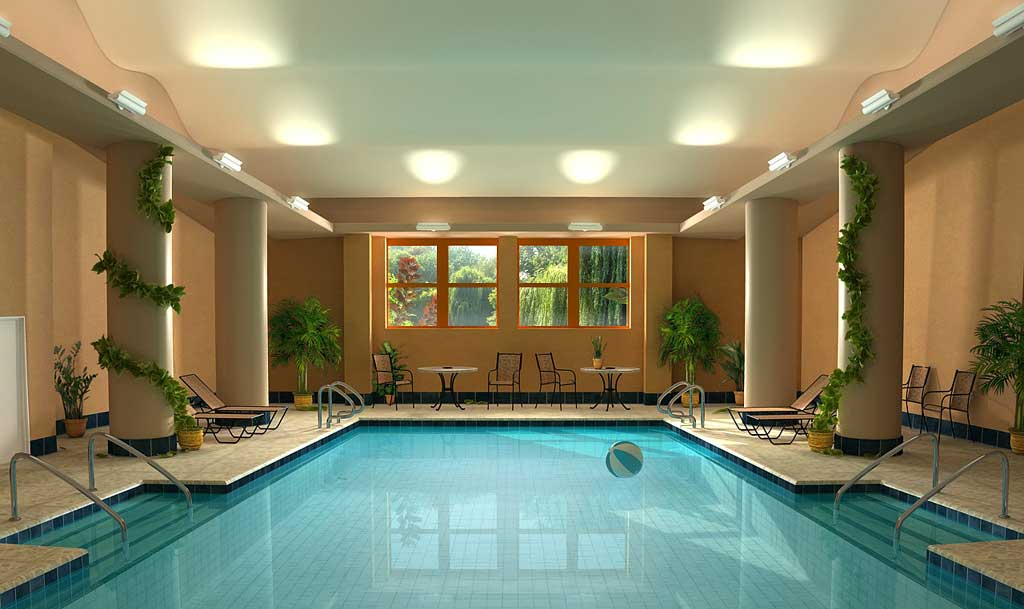 Relaxing Spa and Indoor Swiming Pools