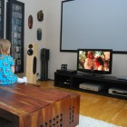 Scandinavian Living Room Home Theatre Design Ideas