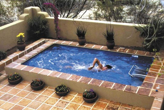 Small Rooftop Pools Design Inspirations