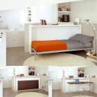 Transforming Furniture Bed to Study Desk