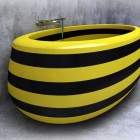 Unique Bee Themes for Bathtub