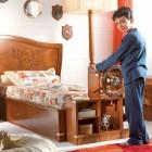 Unique Boys Bedroom with Ship Steering Wheels Decor