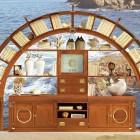 Unique Living Room Furniture with Great Sea Decor