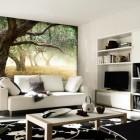 Wall Sticker Landscape Trees Living Room Ideas