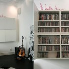 White DVD Shelving Furniture Design