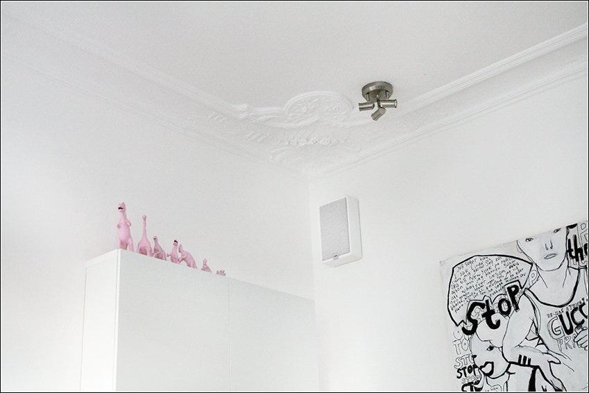 White Gypsum Ceiling Decorations