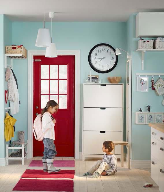 White IKEA Living Room Storage Inspirations
