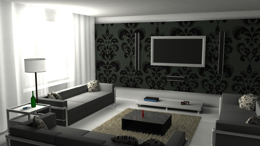 Modern Stylish Living Rooms Inspirations - Living Room Design Ideas ...