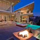 Amazing Deck and Layered Pools Design