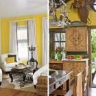 Artistic Yellow Room Inspirations