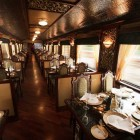 Beautiful Train Dining Carriage