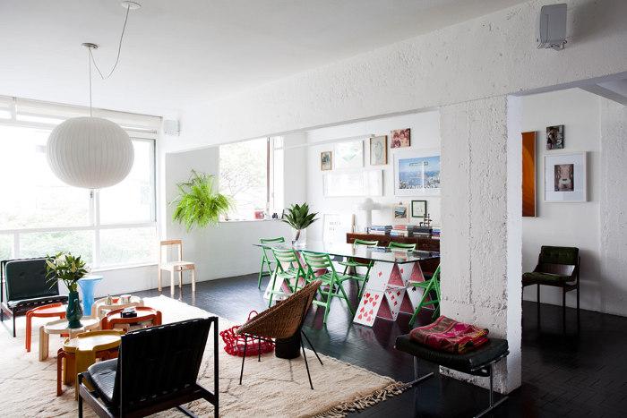 Beautiful White Apartment Interior Design