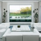 Beautiful White Living Room 2012