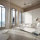 Bright Bedroom and Balcony