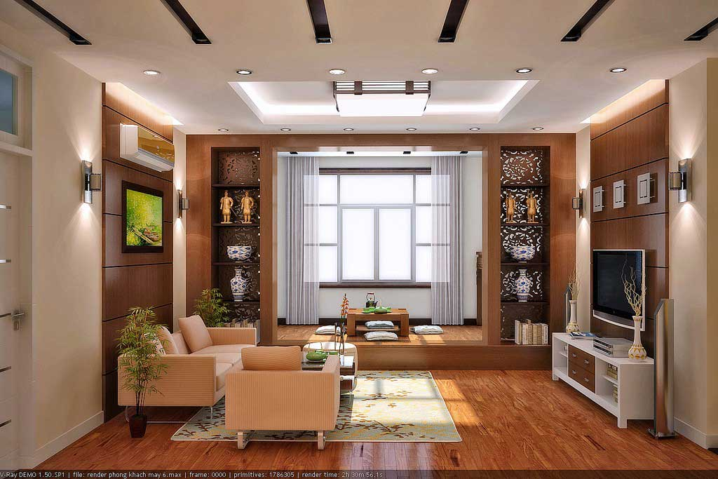 Best contemporary interior designs concepts by vu khoi for New drawing room designs