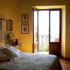 Classic Bedroom Design with Yellow Color