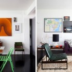 Colorful Apartment Livingroom Area