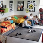 Doble Bed Junior Bedroom for Urban People