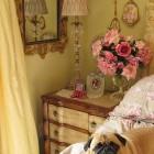 Luxury Classic Soft Yellow Bedroom
