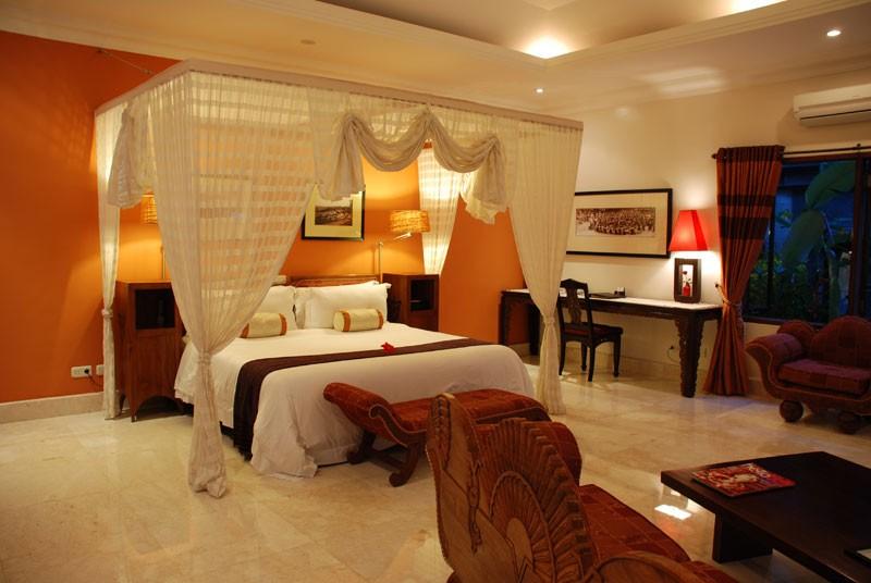 Luxury Garden Villa Bedroom Design