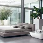 Luxury Gray Bedroom with Banana Tree Decor