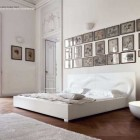 Luxury and Minimalist White Bedroom