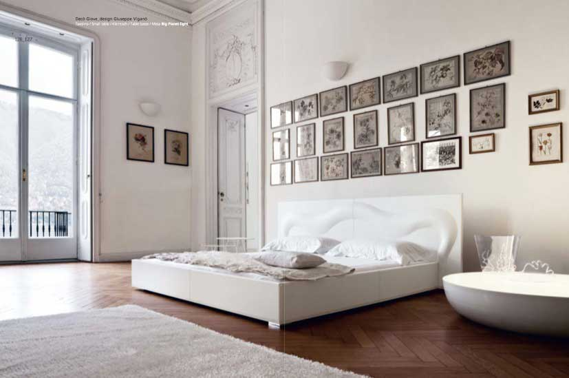 luxury and minimalist white bedroom interior design ideas