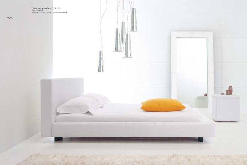 Luxury And Simple White Yellow Bedroom Design Interior