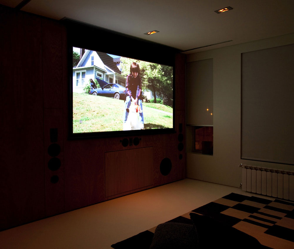 Mini Theatre Entertainment System In Small House
