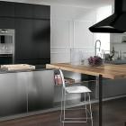 Modern Stainless Steel Kitchen Design
