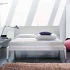 Modern White Pink Bedroom Design